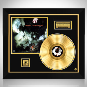 The Cure 'Disintegration'' Limited Signature Edition Studio Licensed Gold LP Custom Frame