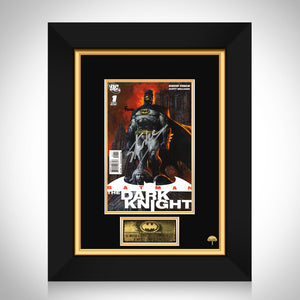 Batman Dark Knight #1 Limited Signature Edition Comic Book Cover Art Custom Frame