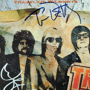 The Traveling Wilburys Volume 1 Limited Signature Edition Studio Licensed Gold LP Custom Frame