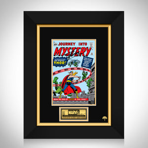 Journey Into The Mystery #83 Stan Lee Limited Signature Edition Comic Book Cover Art Custom Frame