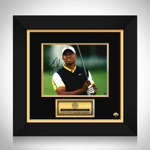 Tiger Woods Photo Limited Signature Edition Studio Licensed Custom Frame