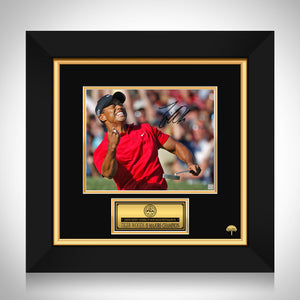 Tiger Woods 15 Majors Champion Photo Limited Signature Edition Studio Licensed Photo Custom Frame