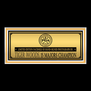 Tiger Woods- Limited Signature Edition Studio Licensed Photo Custom Frame