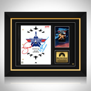 Top Gun- Limited Signature Edition Studio Licensed Script Custom Frame