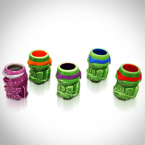 Teenage Mutant Ninja Turtles (Tmnt) Vintage Tiki Mugs