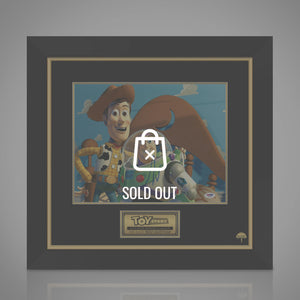 Toy Story- 'Woody & Buzz Lightyear' Psa/Dna Certified Hand-Signed Photo By Tim Allen Custom Frame
