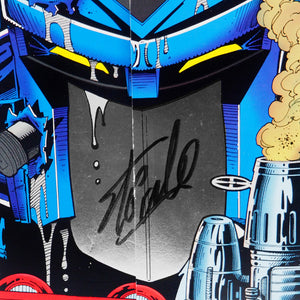 Transformers Generation 2 Vol. 1 #1 Nov. (1993) Hand-Signed Comic Book by Stan Lee Custom Frame