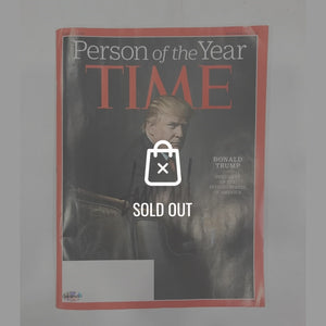 Donald Trump December 2016 Time Magazine Hand-Signed By Donald Trump