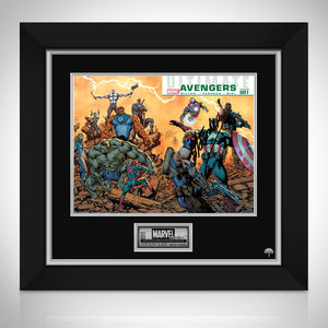 Ultimate Avengers #1 Stan Lee Limited Signature Edition Comic Book Cover Art Custom Frame