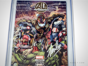 CGC Signature Series 'AGE OF ULTRON #1-9.8 HANDSIGNED BY STAN LEE'