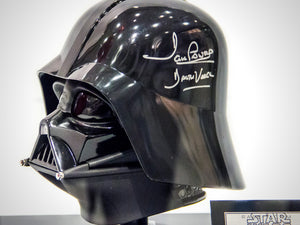 RARE-T Exclusive |  STAR WARS VADER HELMET - Signed by David Prowse