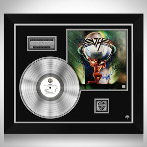 Van Halen 5150 Limited Signature Edition Studio Licensed Platinum LP Custom Frame
