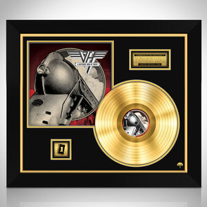 Van Halen A Different Kind of Truth Limited Collectors' Edition Studio Licensed Gold LP Custom Frame