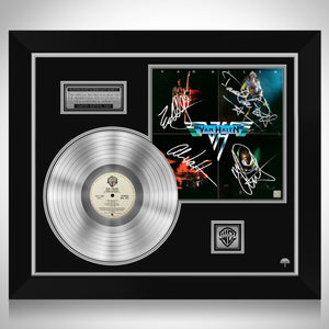 Van Halen Van Halen Platinum LP Limited Signature Edition Studio Licensed Custom Frame