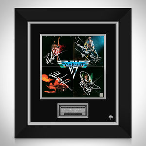 Van Halen Van Halen LP Cover Limited Signature Edition Studio Licensed Custom Frame