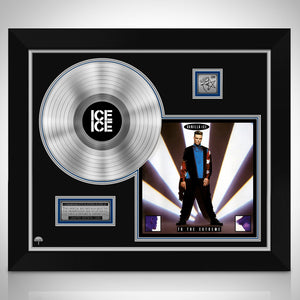 Vanilla Ice 'To The Extreme' Limited Collectors' Edition Studio Licensed Platinum Lp Custom Frame