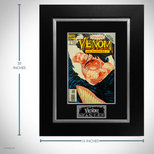 Venom #1 The Madness Part 1 of 3- Hand-Signed Comic Book by Stan Lee Custom Frame