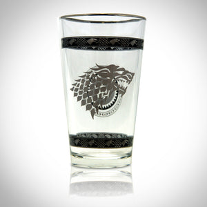 'GAME OF THRONES-STARK GREY SIGIL' Glass