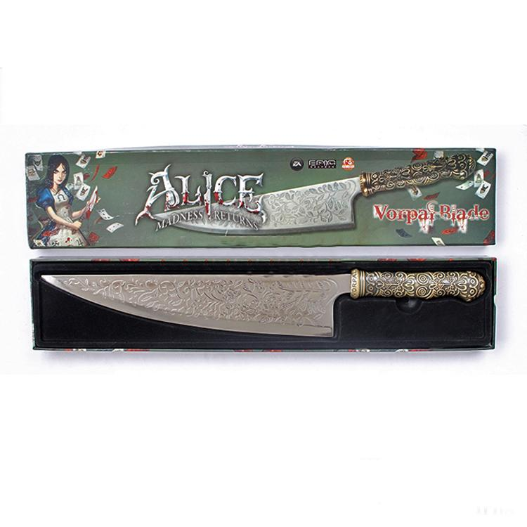 Alice madness returns Vorpal blade in display box