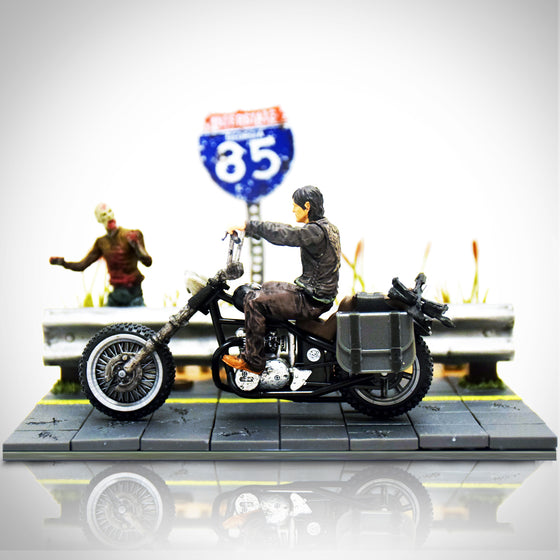 'WALKING DEAD - DARYL DIXON - HIGHWAY' Building Kit