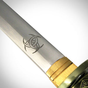The walking dead Michonne Katana celtic close up