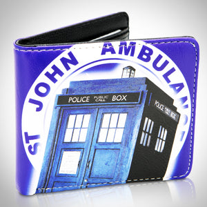 DOCTOR WHO - TARDIS Leather Mimi Wallet