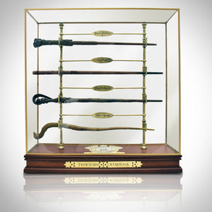 Harry Potter - Triwizard Champion Wand Museum Display