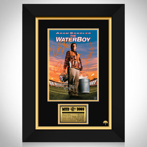 Waterboy Limited Signature Edition Studio Licensed Mini Poster Custom Frame