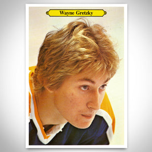 Edmonton Oilers- Wayne Gretzky Collectible Limited Edition 7/24 'O-Pee-Chee' Large Hockey Card