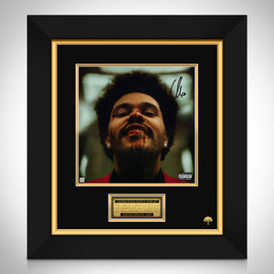 The Weeknd After Hours LP Cover Limited Signature Edition Studio Licensed Custom Frame