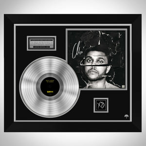 The Weeknd Beauty Behind the Madness Limited Signature Edition Studio Licensed Platinum LP Custom Frame