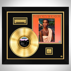 Whitney Houston - Whitney Houston Gold LP Limited Collector Edition Studio Licensed Custom Frame