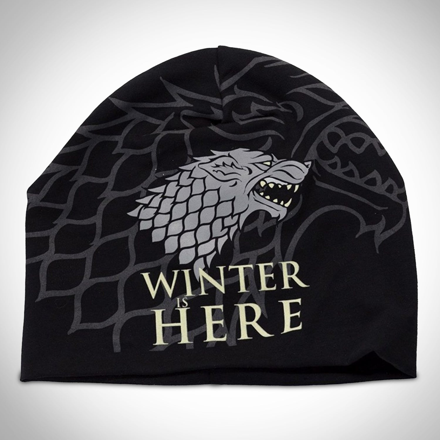 c664e7adceda0 GAME OF THRONES WINTER IS COMING Beanie - RARE-T