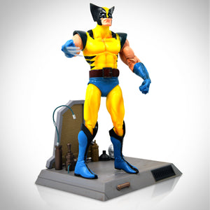 Marvel Select Limited Edition Wolverine Figure With Deluxe Weapon X Base Sculpted By Rudy Garcia