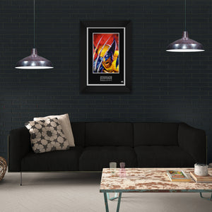 Wolverine 'Claw' Hand-Signed Artwork Print By Artist Greg Horn Custom Frame