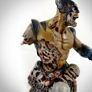 Zombie Wolverine- Diamond Select Toys Limited Edition Bust Statue #955 By Sculptor William Paquet
