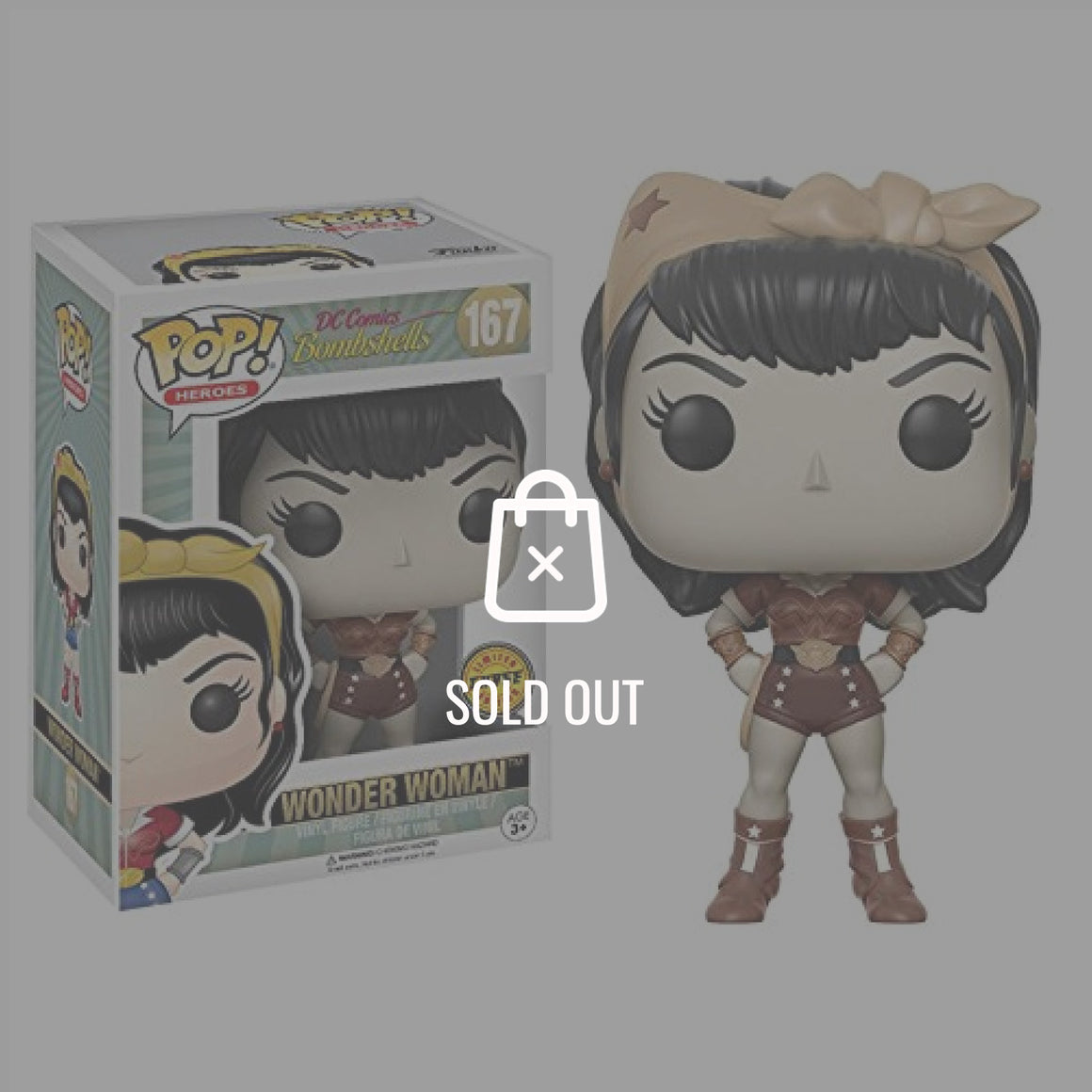 WONDER WOMAN DC BOMBSHELLS CHASE Pop