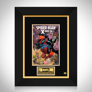 Spider-Man & The X-Men #1 Stan Lee Limited Signature Edition Comic Book Cover Art Custom Frame