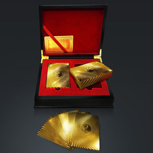 24K - YIN YANG GOLD PLATED PLAYING CARDS