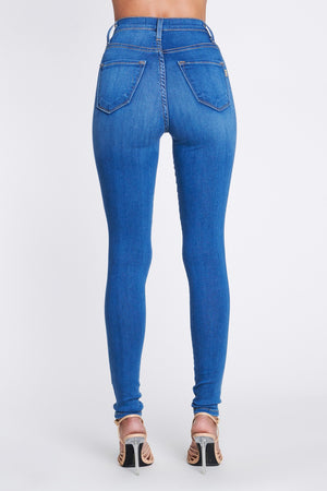 Classic Blue Wash High Waisted Jeans