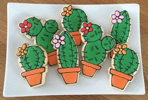 Cactus Sugar Cookie - Baking Fun - www.bakingfun.ca