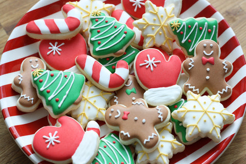 Christmas and Winter Cookie Bites