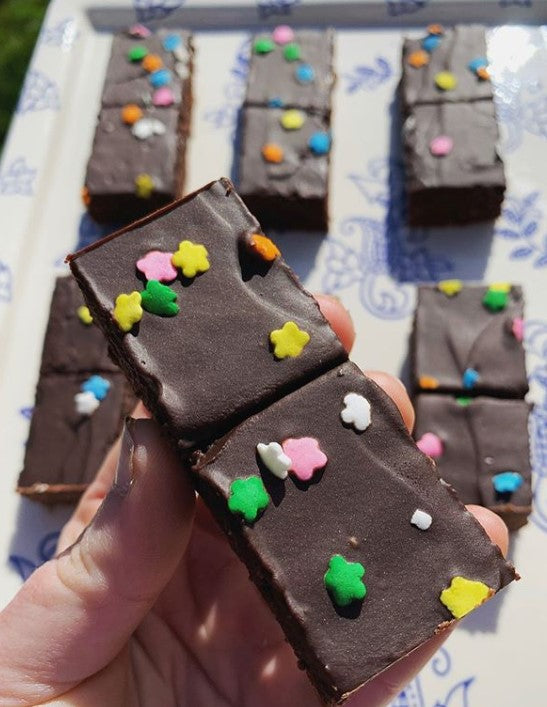 Take a Trip Down Memory Lane with an Out of This World Keto Cosmic Brownie Recipe!