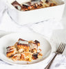 Yes, This Banana Caramel Bread Pudding is Keto Friendly