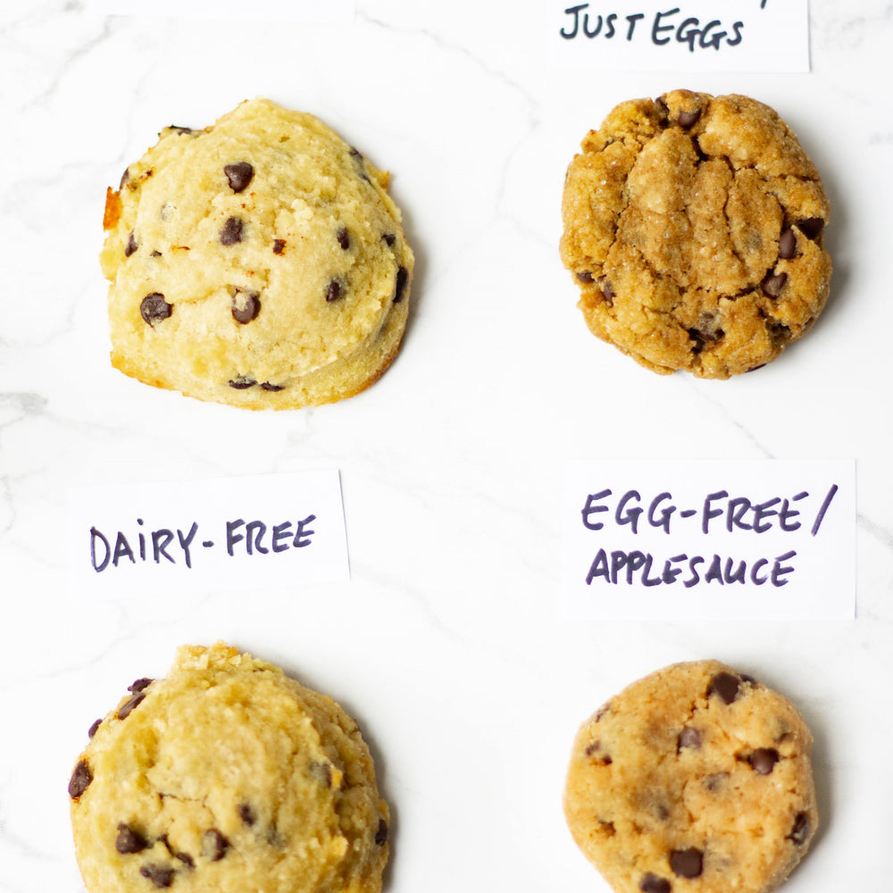 Dairy-Free and Egg-Free Substitutions for Your Soft-Baked Keto Cookies