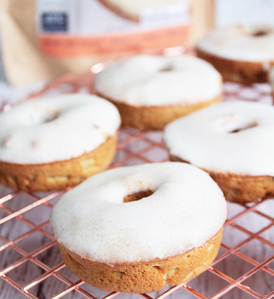 Keto Friendly Peaches and Cream Doughnut Recipe