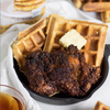 Keto Chicken and Waffles Recipe