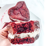 Red Velvet Keto Whoopie Pies for Valentine's Day Celebrations