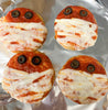 How to Make Keto Mini Mummy Pizzas for Halloween