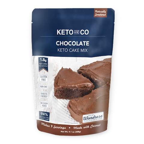 keto and co Chocolate Cake Mix